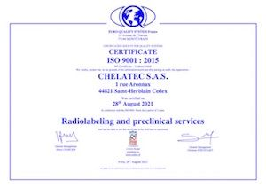 CHELATEC ISO 9001